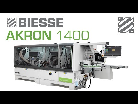 Akron 1400 - Single Sided Edgebanding Machine