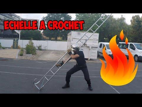 Echelle a crochet // DEFI, MANOEUVRE ... PAR STRIKE