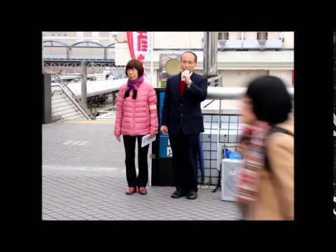 7時から戸塚駅東口ペデストリアンデッキで結果報告