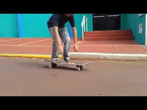Role em Cruzalia com o Skate !!!!
