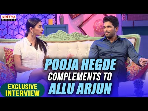 Video Pooja Hegde Complements To Allu Arjun | Allu Arjun & Pooja Hegde Exclusive Interview About DJ download in MP3, 3GP, MP4, WEBM, AVI, FLV January 2017