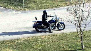 5. 2009 Kawasaki Vulcan 900 Classic LT with Cobra exhaust