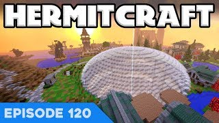 Hermitcraft V 120 | OUR GIGANTIC GLASS DOME! • | A Minecraft Let's Play