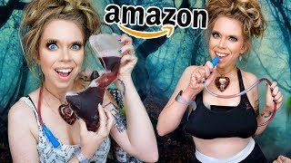 5 Unusual CLOTHING Gadgets from Amazon Tested! by GRAV3YARDGIRL