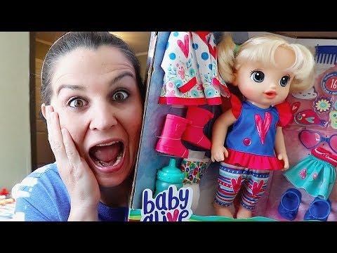 Mom Steals BABY ALIVE DOLL! DON'T TELL AUBREY!