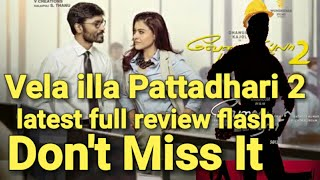 VIP 2 shocking review  Dhanush  Amala Paul  complete review