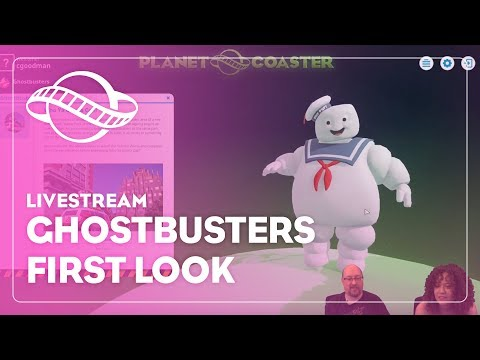 Planet Coaster: Ghostbusters first look!
