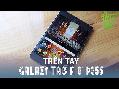 Vật Vờ - Đánh giá nhanh Samsung Galaxy Tab A 8