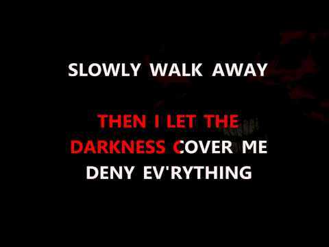 Disturbed - Darkness Karaoke HD