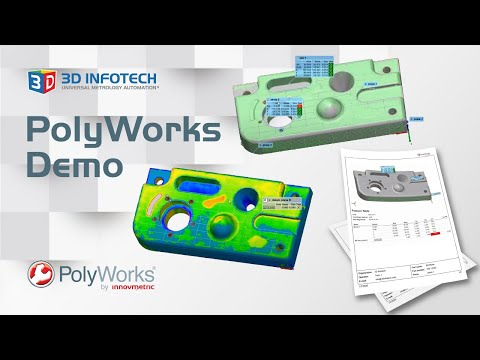 PolyWorks 2017 Demo by 3D Infotech
