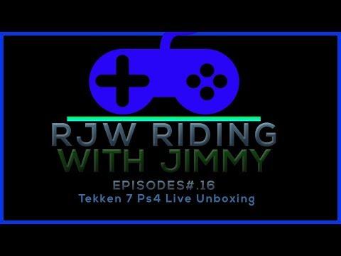 Tekken 7 Ps4 Live Unboxing