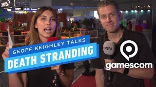 Geoff Keighley on Death Stranding's Multiplayer - Gamescom 2019 by IGN