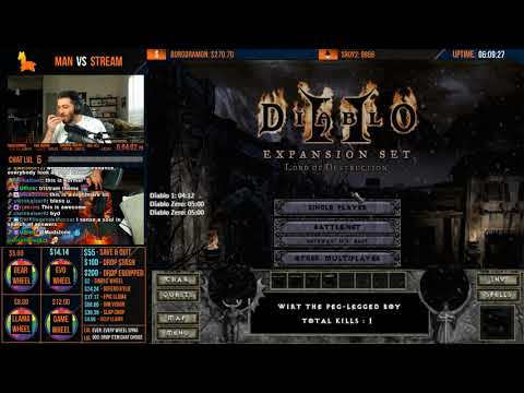 Diablo 2 - S5 MAN VS STREAM - I GAVE CHAT TOO MUCH POWER [Part 2]