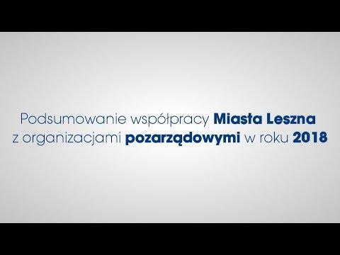 Podsumowanie współpracy Miasta Leszna z organizacjami pozarządowymi w roku 2018