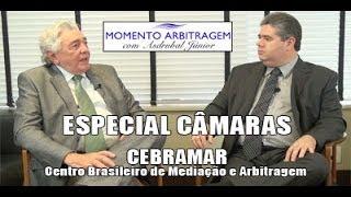 Entrevista concedida pelo Presidente do CEBRAMAR, Dr. Cláudio Santos, ao Dr. Asdrúbal Filho, no prog