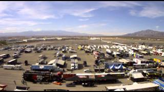 NHRA Toyota Nationals Time Lapse - Day 1