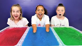 Video GELLI BAFF TOY CHALLENGE GAME!! Alien Baby Slime | Toys AndMe MP3, 3GP, MP4, WEBM, AVI, FLV Juli 2018