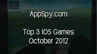 Top 3 IOS Games October 2012 - AppSpy.com
