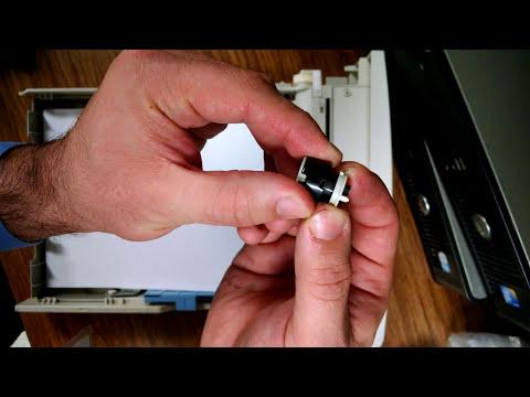 HP LaserJet 4000 4050 13.2 Paper Jam Tray adjustment