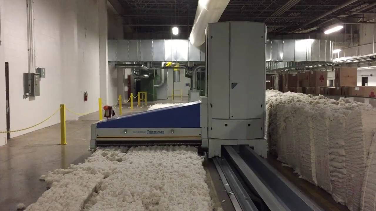 Cotton Blending: Yarn Production