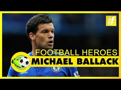 Michael Ballack | Football Heroes | Full Documentary