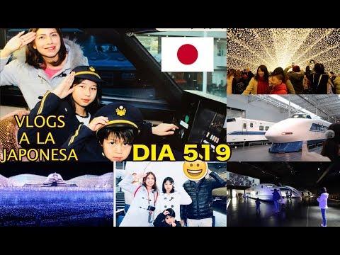 La Mejor Iluminación en JAPON + El Primer Tren Bala - Ruthi San  04-01-18