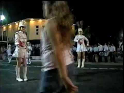 bastoneras - Desfile y coreografías de Guardia del Río Rosario del Tala en Pronunciamiento con motivo del III Encuentro de Guardias de Honor y Bandas Musicales durante lo...