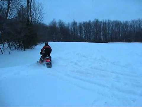 500ssman - Sledding in Blue Mountain Ontario.