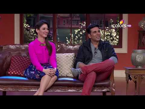 Comedy Nights With Kapil - Akshay, Tamanna, Mithun - Entertainment - 9th August 2014 - Full Ep(HD)