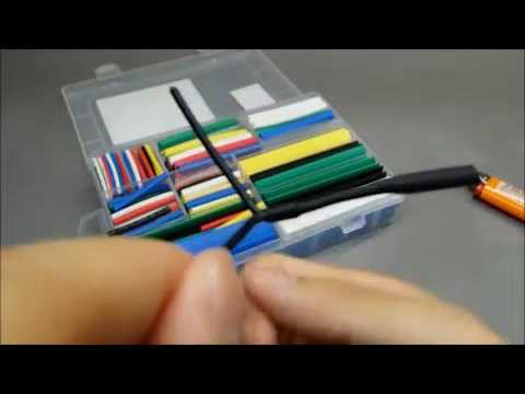 Salipt® Heat Shrink Tubing 7 Colors 9 Sizes Tube Wrap Sleeve Set Combo 385 Pcs Assorted