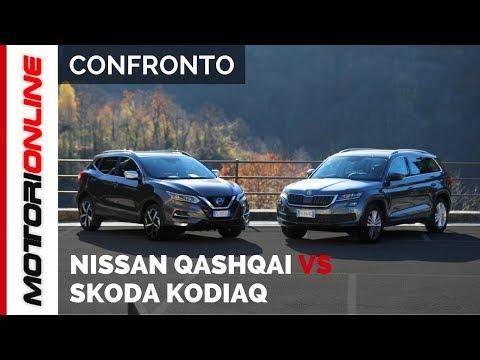 Nissan Qashqai vs Skoda Kodiaq | Auto a confronto