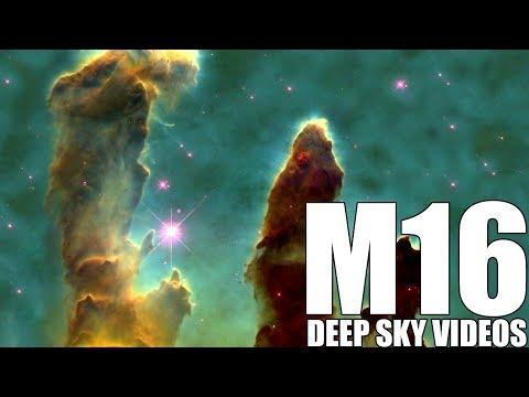 Eagle Nebula und das verblüffende Bild (M16) - Deep Sky Videos