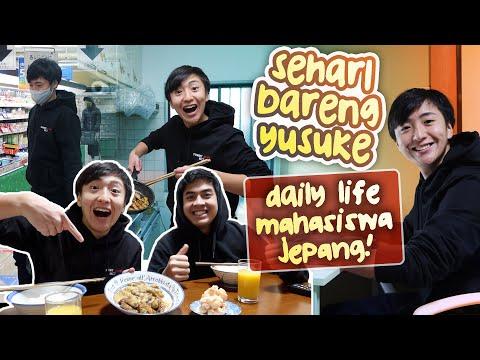 SEHARI BARENG YUSUKE! | DAILY LIFE MAHASISWA JEPANG