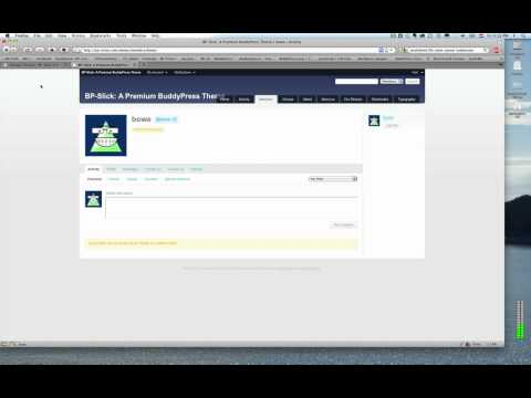 BPSLICK - This video shows you how to install BP-Slick for BuddyPress. BP-Slick is a Premium Theme focused on ease of use, flexibility and S2Member and MultiSite integ...