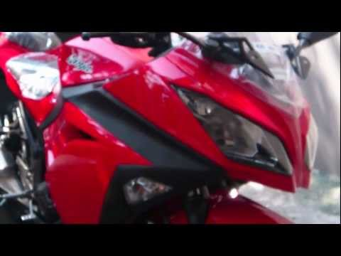 All New 2013 Kawasaki  Ninja 250 FI Red