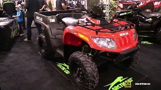 2. 2015 Arctic Cat TBX 700 EFI Utility ATV - Exterior Walkaround - 2014 Toronto ATV Show
