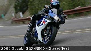 8. 2006 Suzuki GSX-R600 Superbike Smackdown Street Ride - MotoUSA