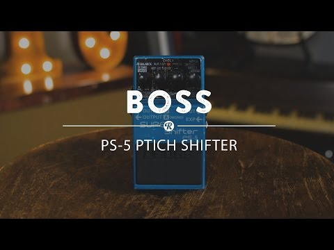 Boss PS-5 Pitch Shifter Pedal | Reverb Demo Video