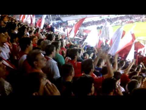 """""""Rojo yo te persigo..."""" Recibimiento - La Barra del Rojo - Independiente"""
