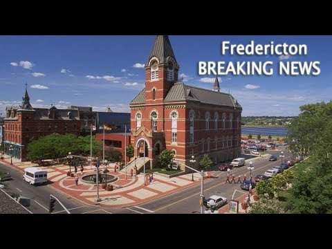BREAKING NEWS: Fredericton in New Brunswick, Canada, travel and hotels video