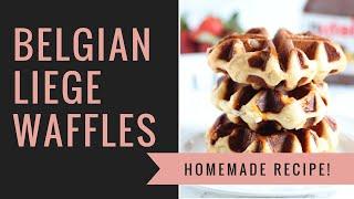 Liege Belgium  city images : Belgian Liege Waffles | BEST Waffles Ever!!