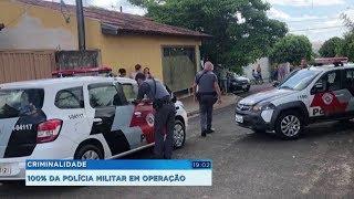 Polícia Militar faz operação em todo Estado para combater a criminalidade