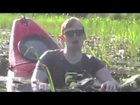 Crying drunk guy in sinking kayak. How does this only have 6000 views?
