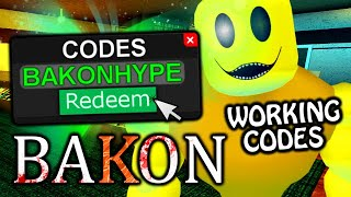 ALL *WORKING* BAKON CODES IN ROBLOX!