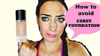 HOW TO AVOID CAKEY FOUNDATION FOR OILY SKIN