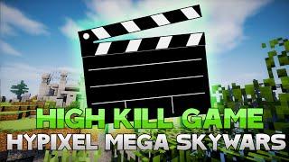 AWESOME HIGH KILL MEGA SKYWARS GAME! ( Hypixel Skywars )