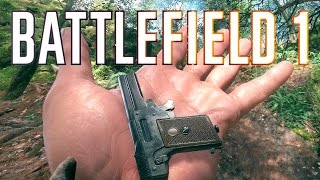 WORLD'S SMALLEST PISTOL! (Battlefield 1 Kolibri Pistol - Smallest Pistol EVER!)