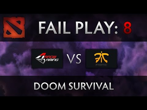 Dota 2 TI4 Fail Play – Arrow vs Fnatic – Doom Jukes