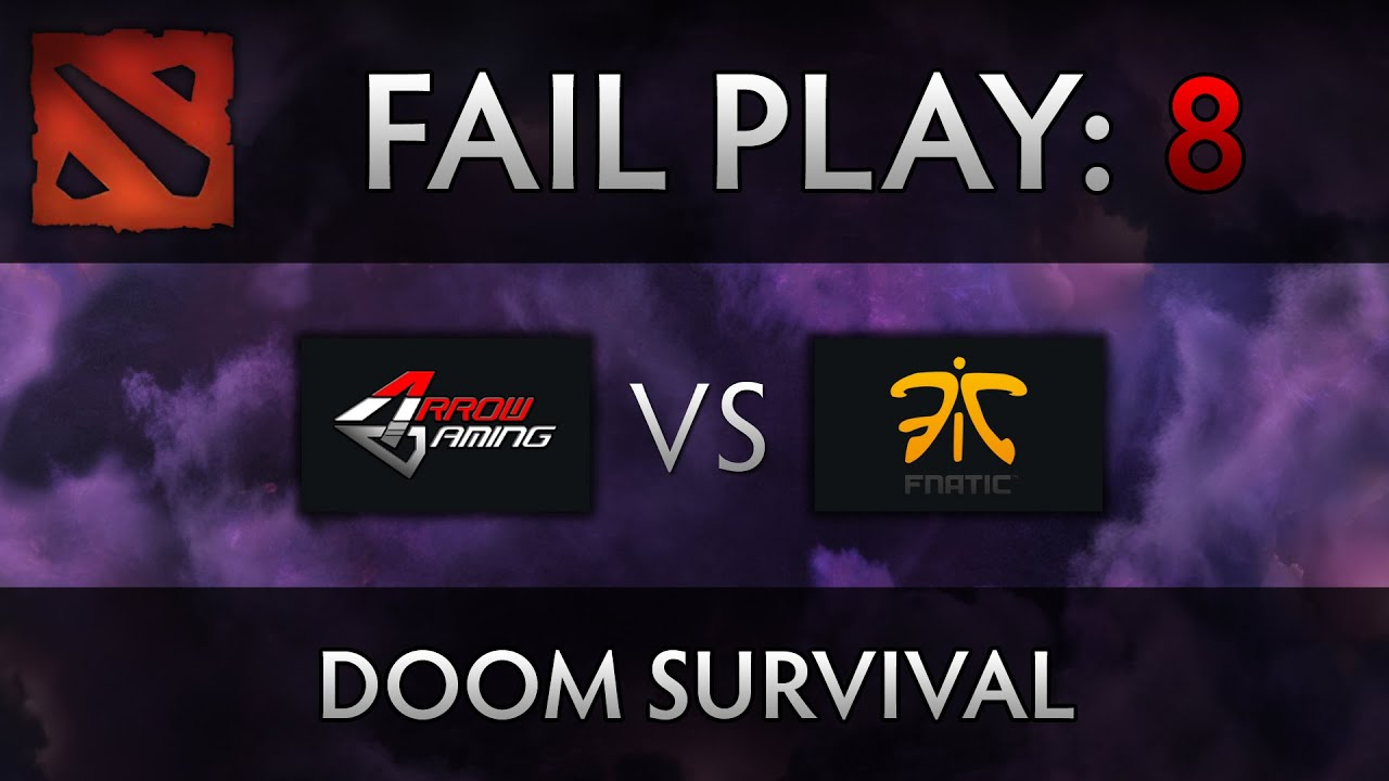 Dota 2 TI4 Fail Play – Arrow vs Fnatic – Doom Jukes, xemgame
