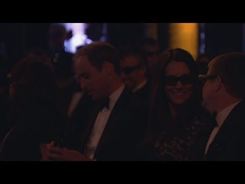 kate - Subscribe to ITN News: http://bit.ly/itnytsub The Duke and Duchess of Cambridge had the honour of being among the first people to see Sir David Attenborough'...